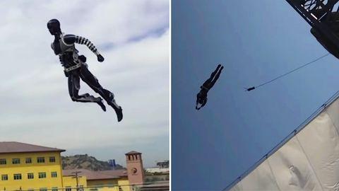 Disney entwickelt spektakulär authentische Roboter-Stunt-Double