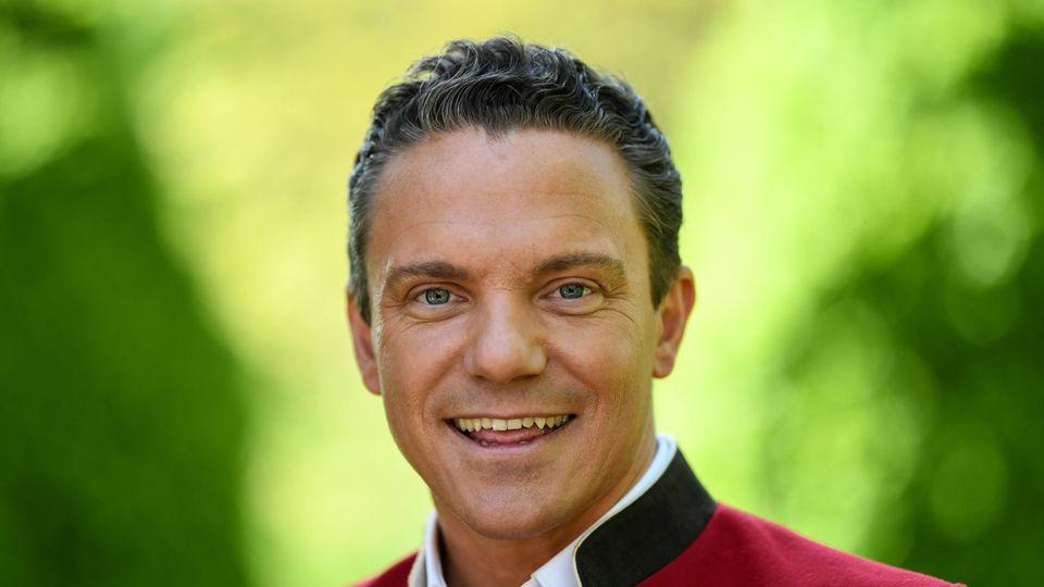 Moderator und Sänger Stefan Mross