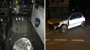 Mit diesem Auto war tatsächlich jemand in Ostengland unterwegs