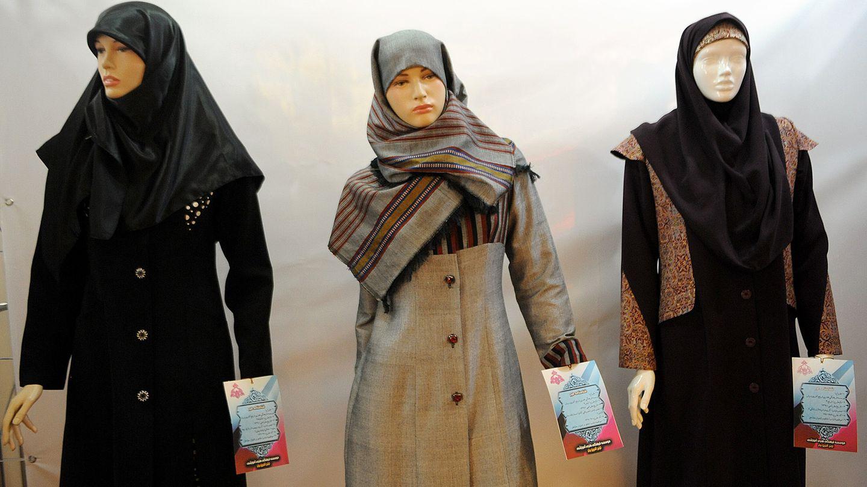 So sieht ein korrekt-islamischer Mantel für ein iranische Beamtin aus