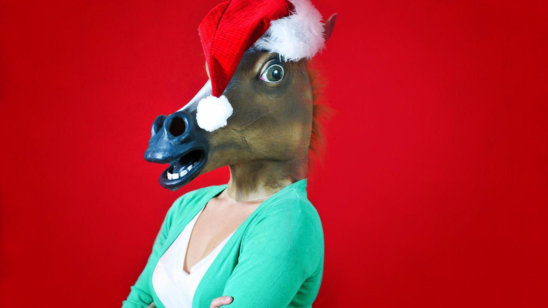 Wenn ihr nicht wisst, welches Motiv ihr für die nächste Weihnachtskarte wählen sollt - dieses sorgt garantiert für Gesprächsstoff unterm Tannenbaum.