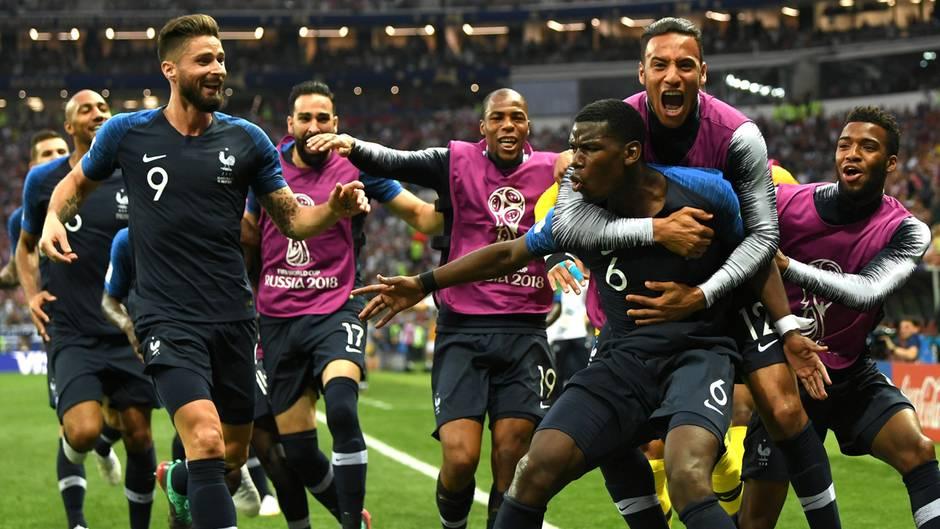 Wm 2018 Frankreich Schlagt Kroatien Und Ist Weltmeister