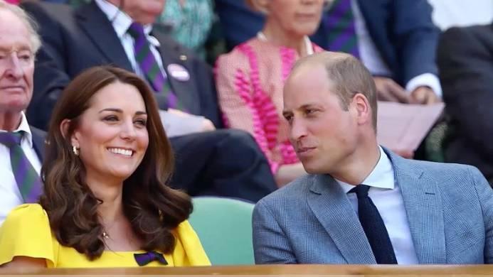 Strahlender Auftritt:  So glänzt Herzogin Kate im Publikum beim Wimbledon-Finale