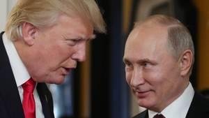 Donald Trump trifft an diesem Montag Kreml-Chef Wladimir Putin