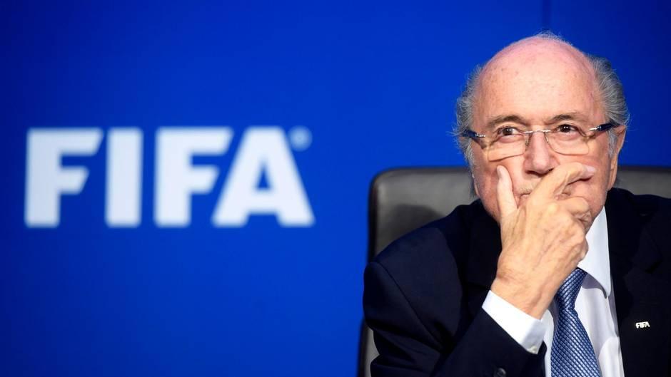 WM 2018: Sepp Blatter