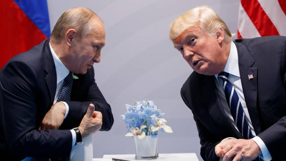 Wladimir Putin und Donald Trump in Zitaten
