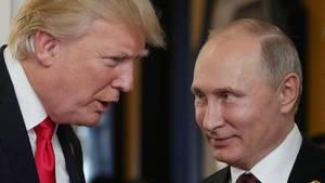 Keine Pöbeleien gegen Wladimir Putin: Donald Trumps bemerkenswerte Milde