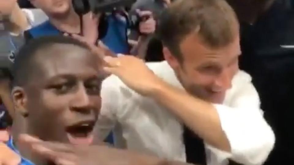 Emmanuel Macron Dab