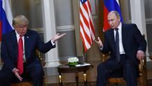Donald Trump Wladimir Putin VI