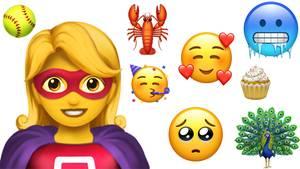 Im Herbst kommen mehr als 60 neue Emojis auf Smartphones und Tablets