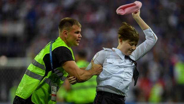 Pussy Riot beim WM-Finale