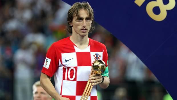 Luka Modric und der goldene Ball