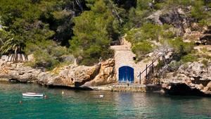 Mallorcas Küste ist im Osten sehr felsig