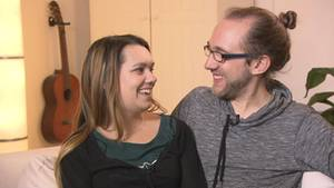 Johanna und Daniel Rosenkranz sind seit knapp einem Jahr verheiratet.