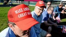 Donald Trump Make-America-Great-Again-Caps würden durch Schutzzölle teurer