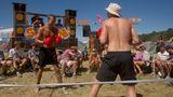 Boxkampf im Camp Rocky – selbsterdachte Spiele und Wettkämpfe sind hoch im Kurs