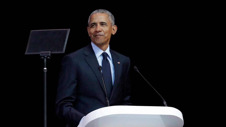 Ex-US-Präsident Barack Obama in Johannesburg