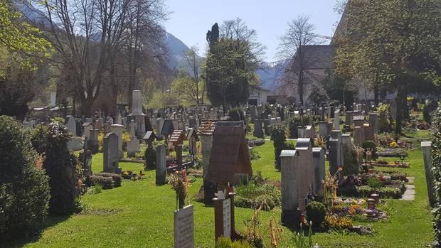 Nachrichten aus Deutschland: Der Friedhof der oberbayerischen Gemeinde Berchtesgaden