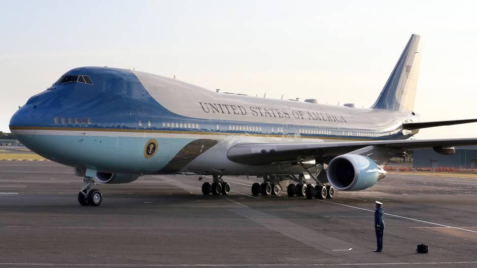 Trump verändert Farben der Air Force One zum ersten Mal