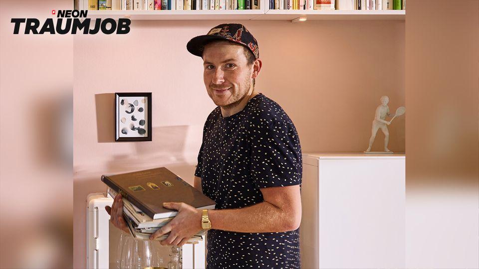 Ikea Interior Designer Konrad Pichelmeier bei der Arbeit