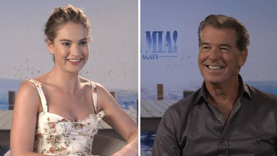 """NEON trifft: Wenn James Bond schief singt: Warum sich """"Mamma Mia 2"""" lohnt"""