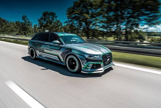 Abt Audi RS6-E - mit einem gewaltigen Boost ab 100 km/h