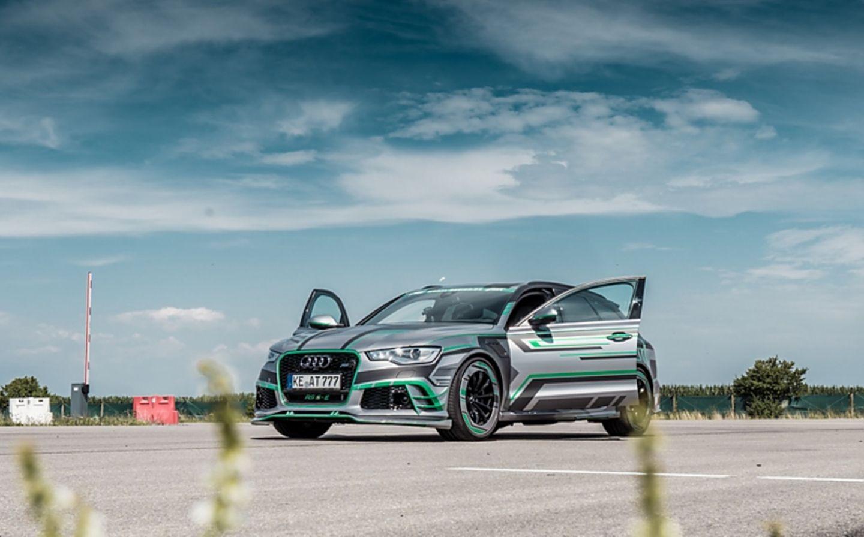 Abt Audi RS6-E - optisch ein normaler RS6-R - ohne Kriegsbemalung