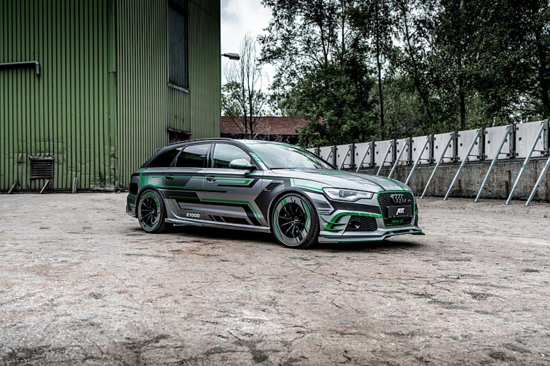 Abt Audi RS6-E - 250 Kilogramm Mehrgewicht