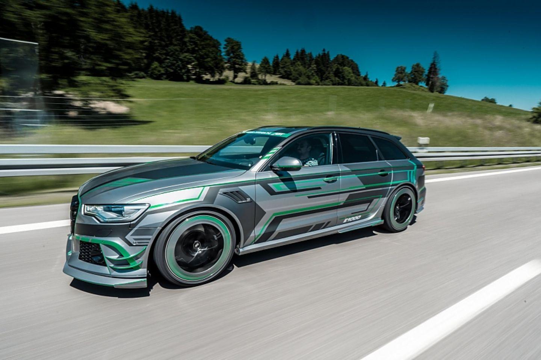 Abt Audi RS6-E - bis zu 15mal kann der Zwischenspurt erfolgen