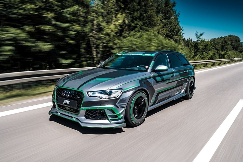 Abt Audi RS6-E - 0 auf 100 km/h in 3,5 Sekunden