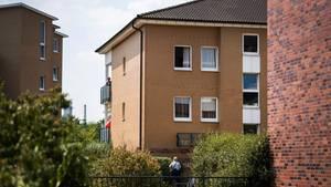 Mehrfamilienhaus im Düsseldorfer Stadtteil Rath