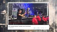 USA: Wie diese Frau ein Konzert für Gehörlose übersetzt, ist einzigartig