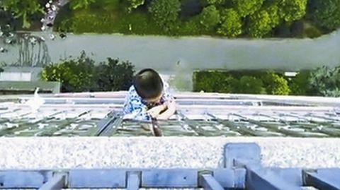 Ermittler rekonstruieren Sturz: Von hier oben fiel Tanja Gräff in die Tiefe