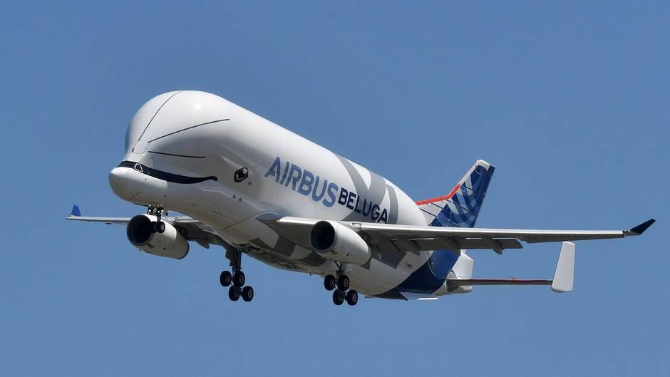 Airbus: Jungfernflug des Beluga XL