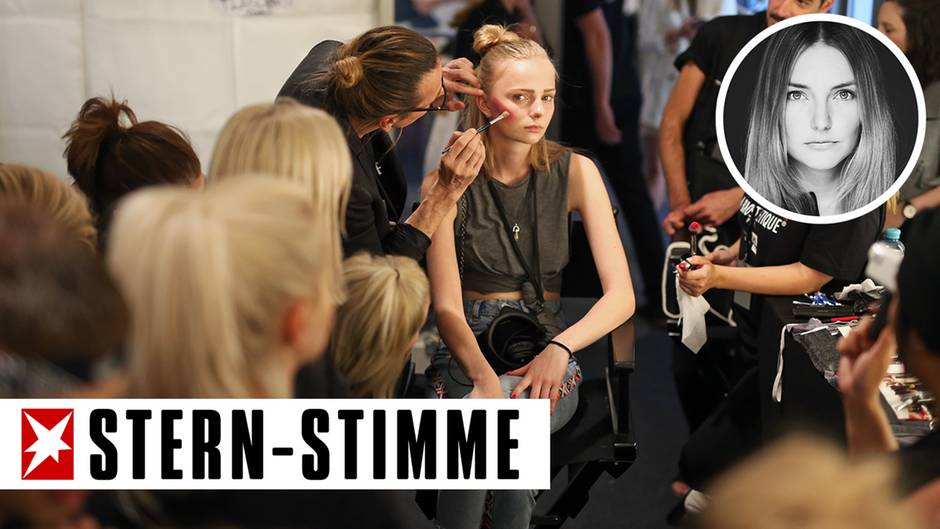 Fashion Week Make-up-Artists