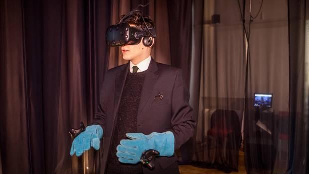 Der Prager Student Marek Lentvorsky erlebt zum ersten Mal VRwandlung. In einem geplanten Spielfilm wird er Franz Kafka spielen.