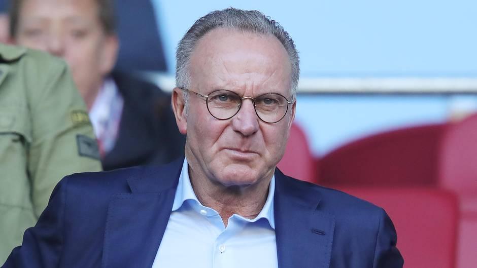 Deutliche Vorwürfe in Richtung DFB: Bayern-Boss Karl-Heinz Rummenigge