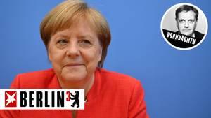 Demonstriert Gelassenheit im Sommer-Interview: Bundeskanzlerin Angela Merkel.