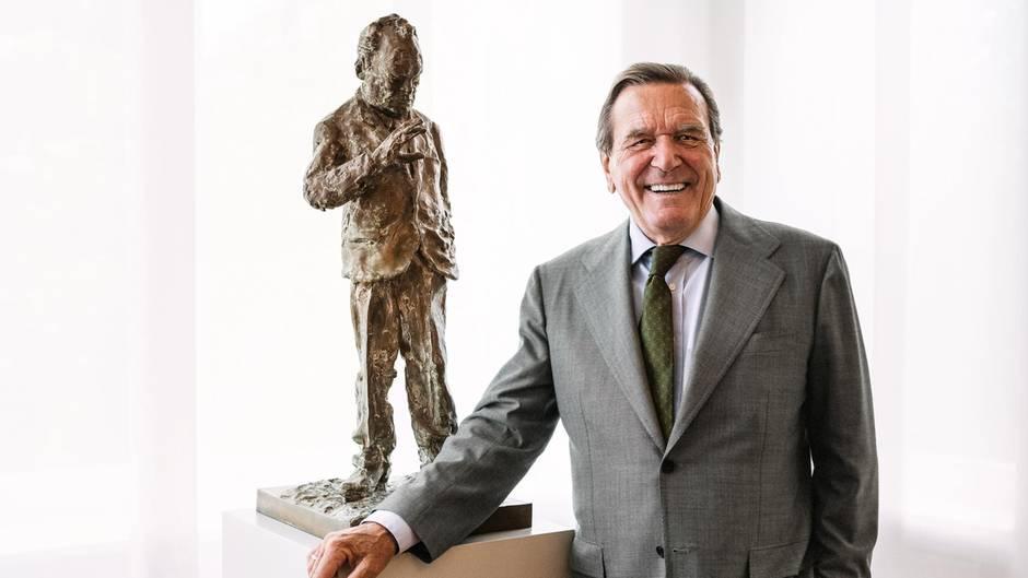 Gerhard Schröder kritisiert im stern-Interview Merkels Politik