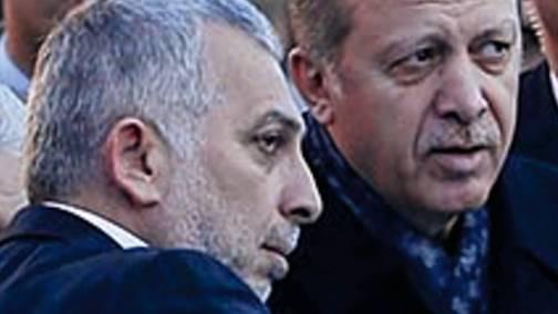 Jugendfreunde: Präsident Erdogan mit Metin Külünk, der den Kontakt zu den Osmanen hielt