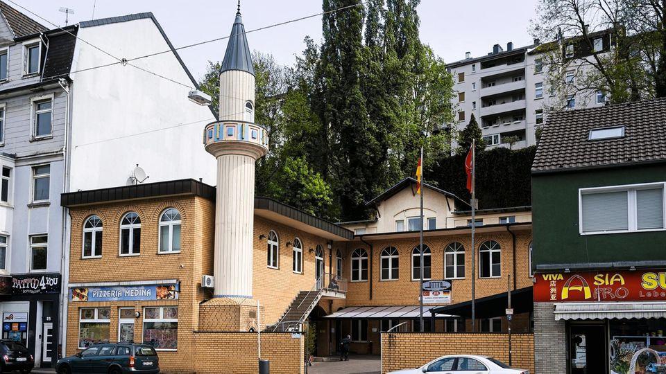Die Ditib-Moschee in Wuppertal. Hamit Paksoy war öfter hier zum Tee. Allerdings selten zum Beten
