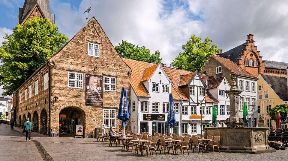 Die Altstadt vonFlensburg