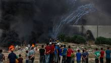 Israel fliegt nach Tod eines Soldaten massive Luftangriffe in Gaza