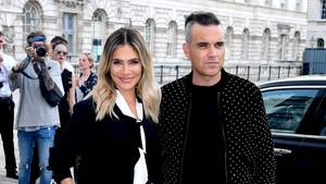 Robbie Williams Ayda Field