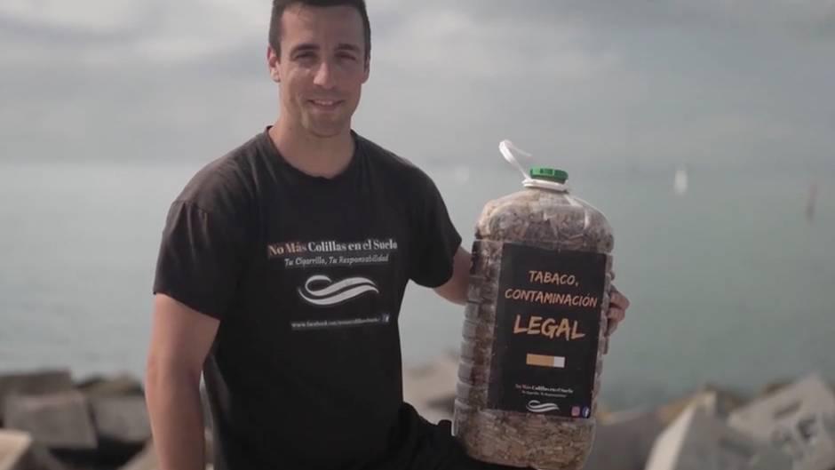 Zigarettenstummel auf dem Boden: Dieser Mann will mit einer kleinen Idee die Welt verbessern