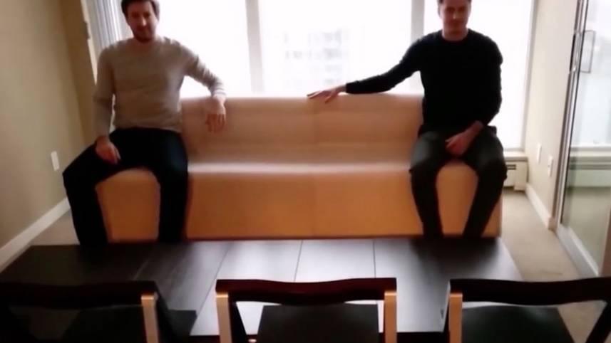 Flexibel wie Kaugummi: Platzmangel? Diese Möbel braucht jeder mit einer kleinen Wohnung