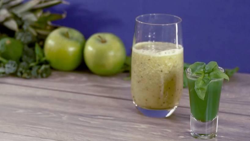 Rezeptidee für den Sommer: Diese zwei grünen Smoothies sind gesund - und schmecken genial
