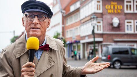 Otto als Reporter Harry Hirsch