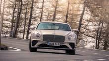 Bentley Continental GT W12 - Wankausgleich mit 48-Volt-Bordnetz