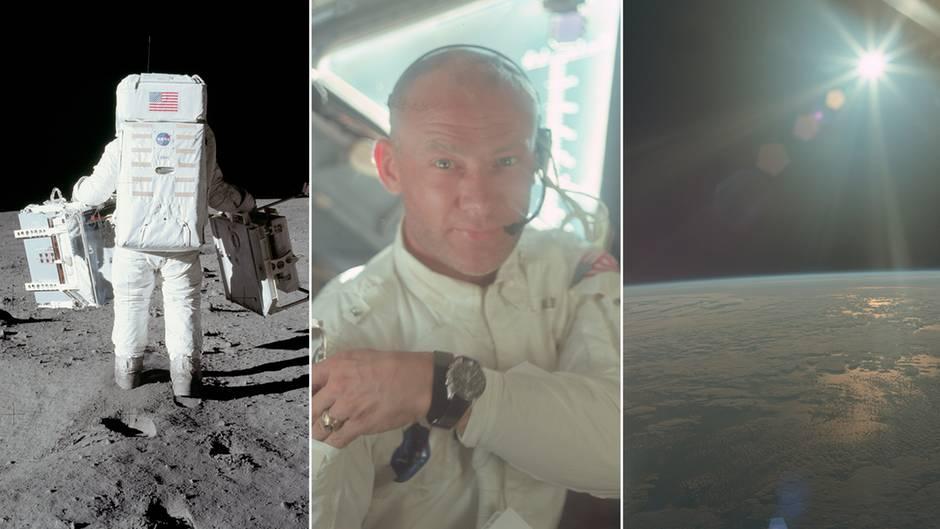 Apollo-Mission: Nasa-Archiv: Hunderte unbekannte Fotos zeigen die Mondlandung aus nächster Nähe